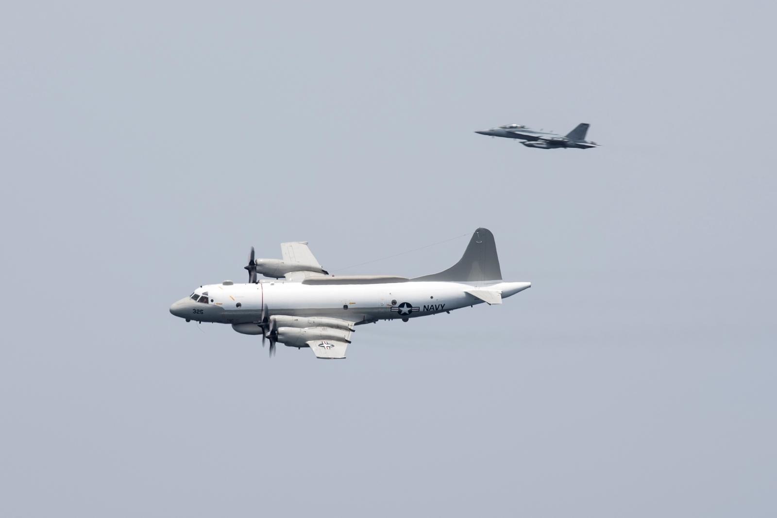 US Navy EP-3E aircraft