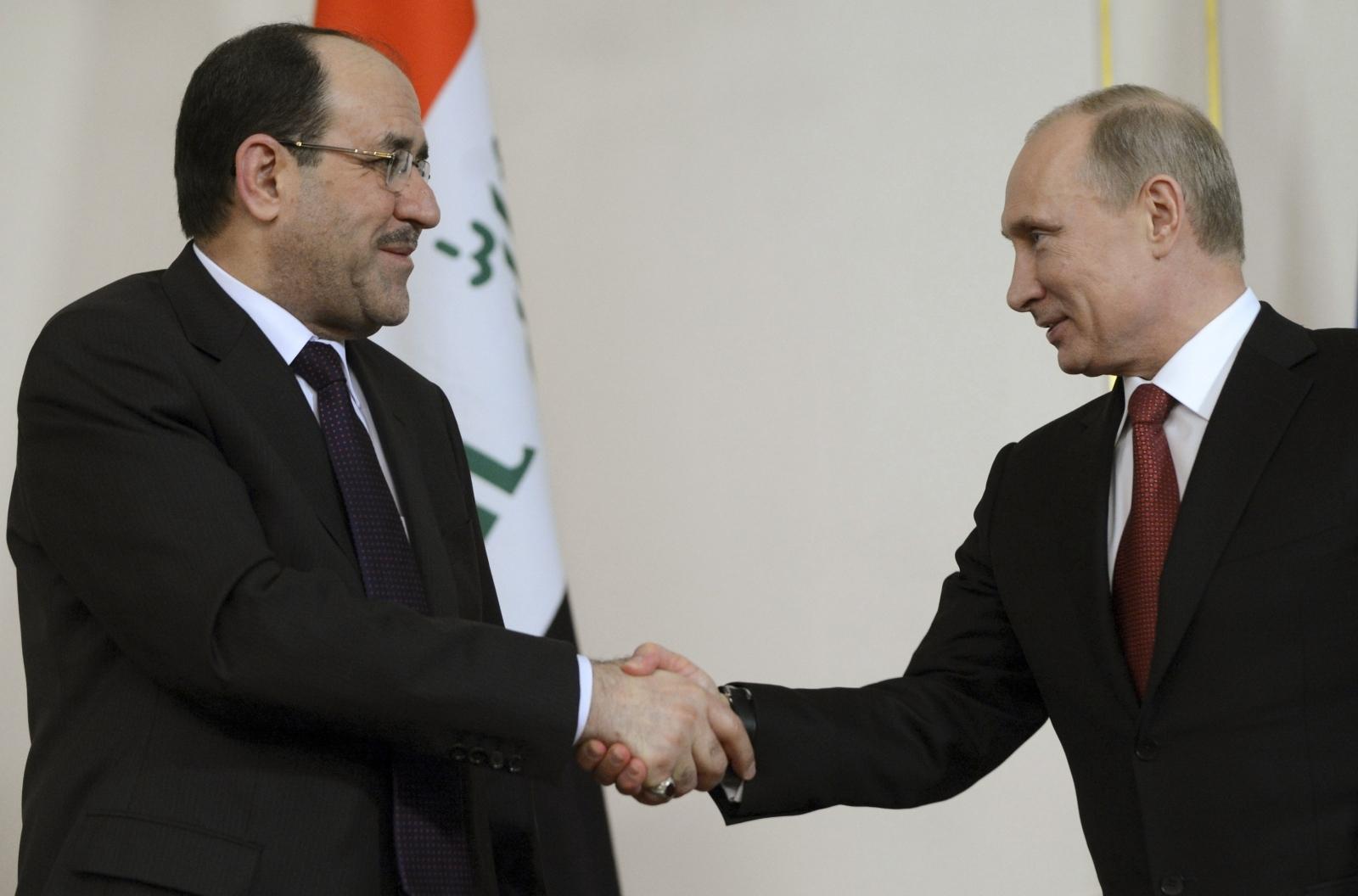 Iraq vice president Russia visit
