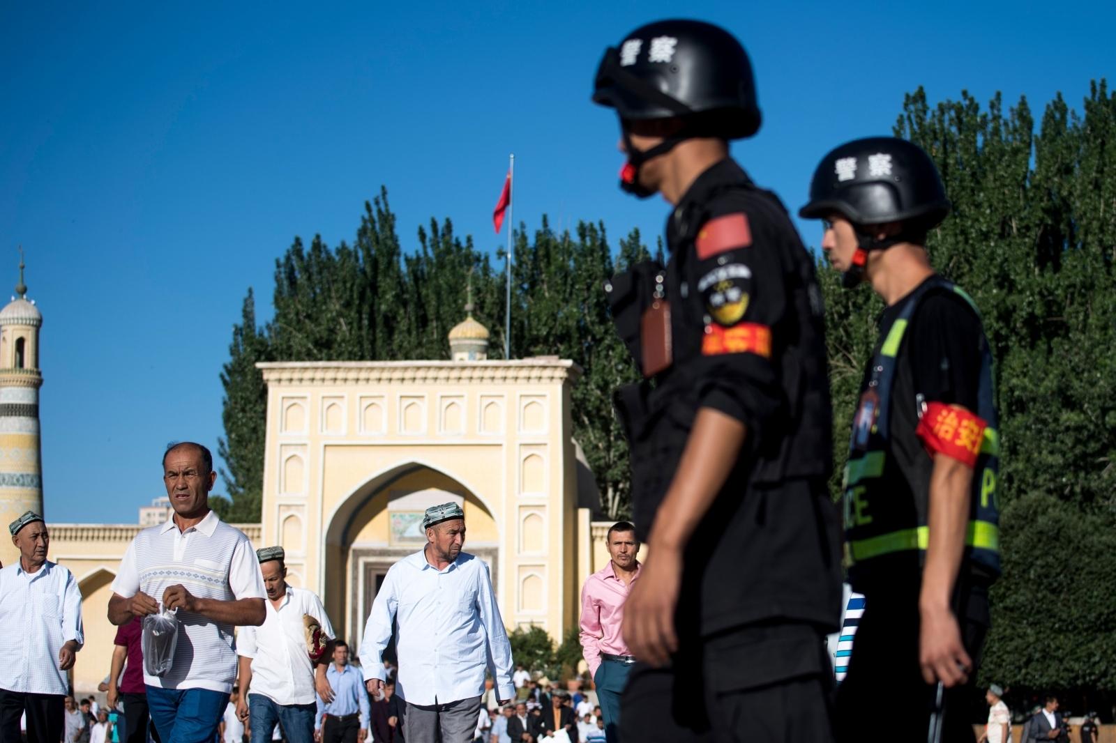 China the  Xinjiang province