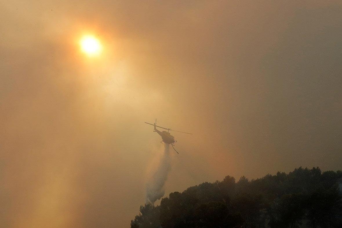 France drought fires