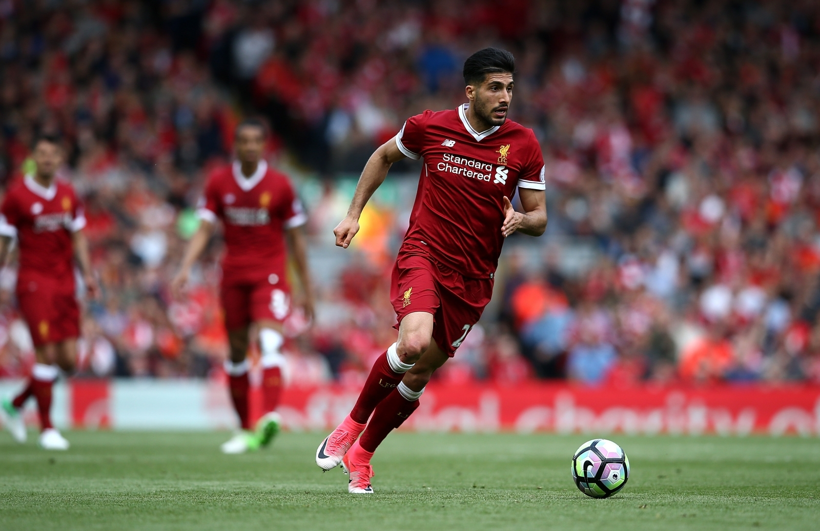 emre can and andrew robertson join liverpool squad as