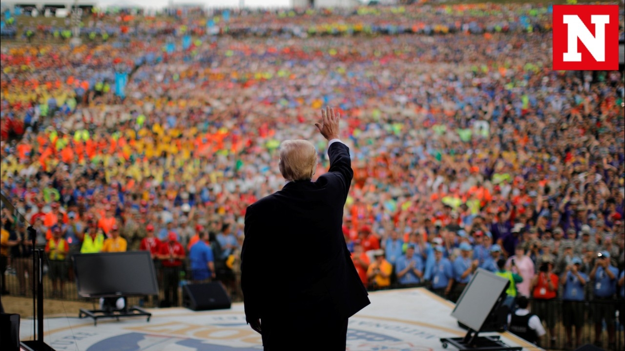 Trump's politicized speech at National Scout Jamboree sparks harsh response from former Scouts