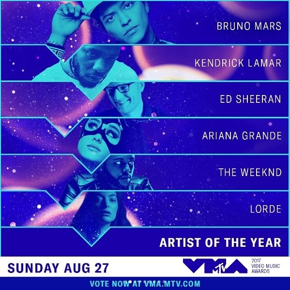 Miley, Lorde, The Weeknd, And 5H Will Perform At The 2017 VMAs