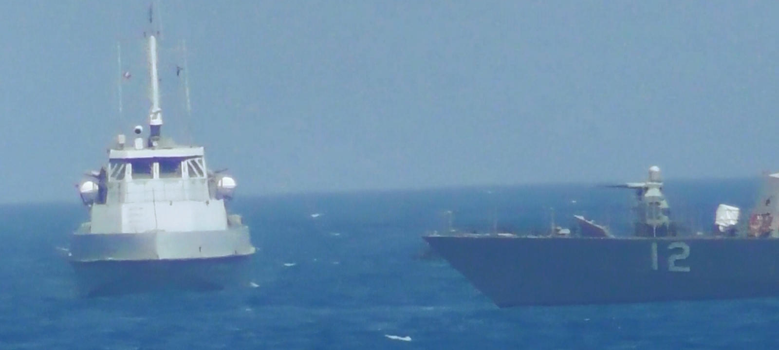 USS Thunderbolt in the Gulf