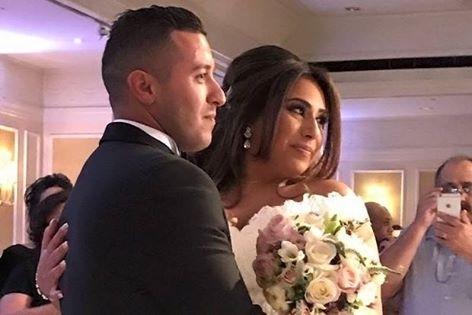 Natasha Politakis and Ali Gul (L)