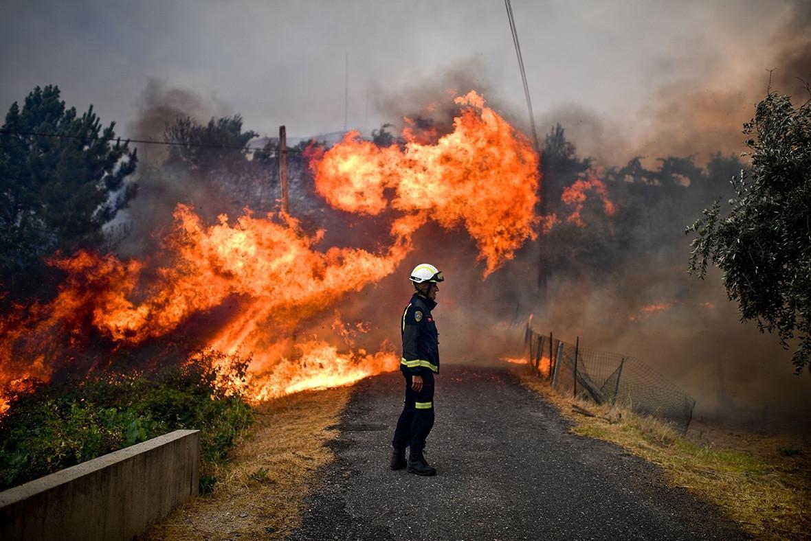 Portugal wildfires incêndio
