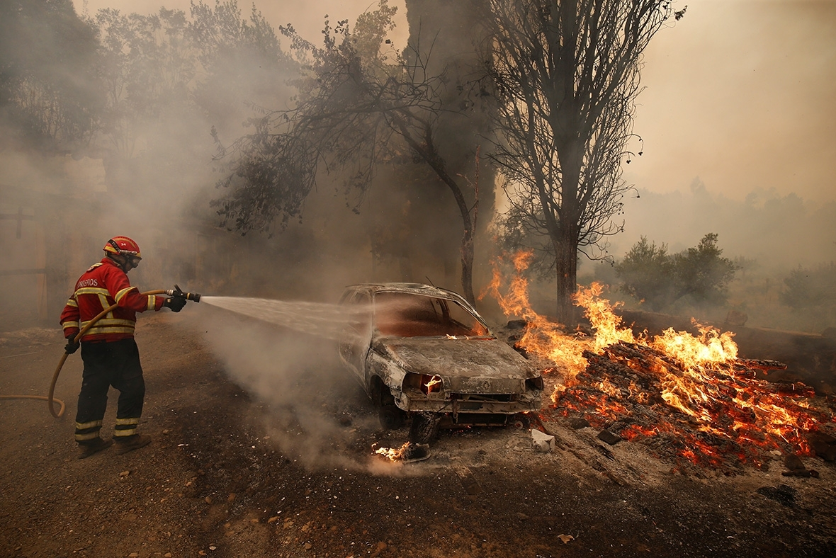 Portugal wildfires incndio
