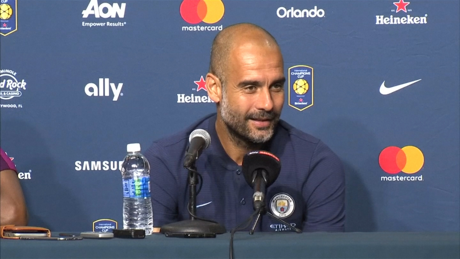 Manchester City's Pep Guardiola says large transfer fees are here to stay