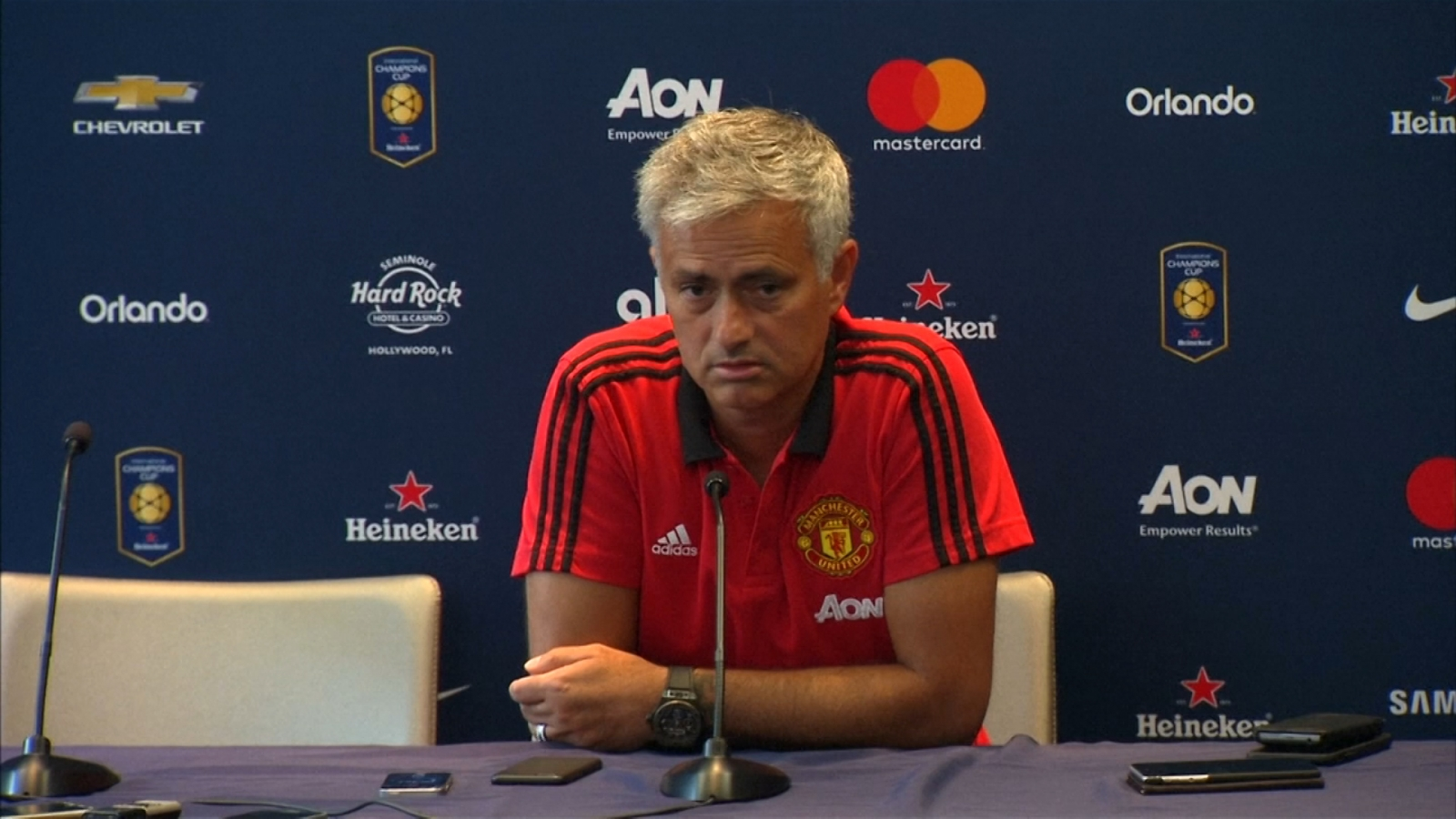 Jose Mourinho says he wants two more players