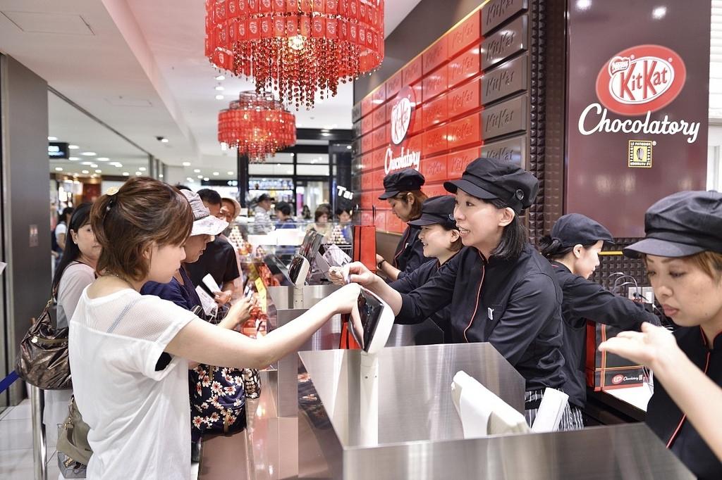 Kit Kat shop in Japan