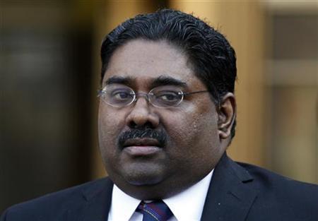 Galleon hedge fund founder Raj Rajaratnam leaves Manhattan Federal Court in New York