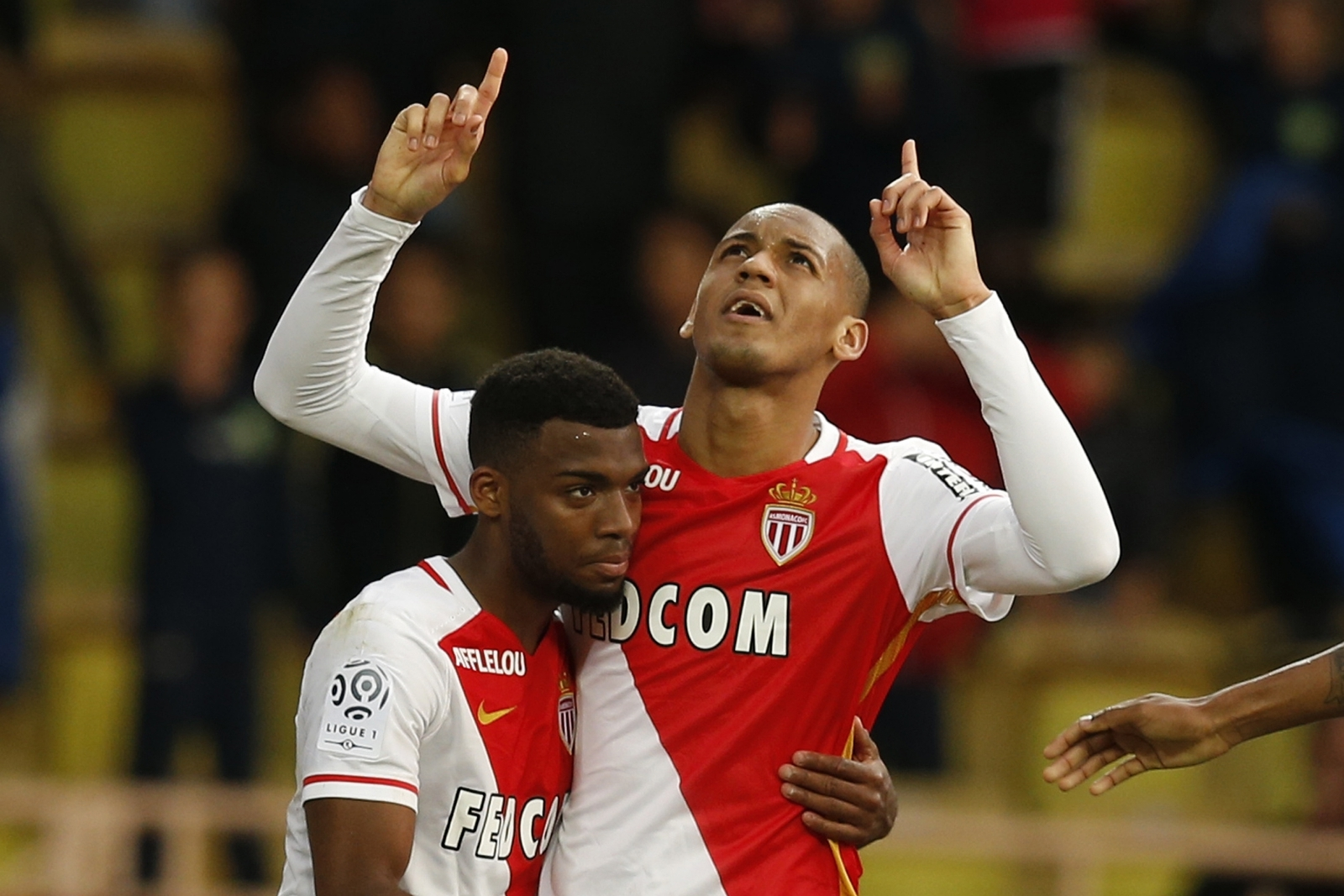 Thomas Lemar and Fabinho