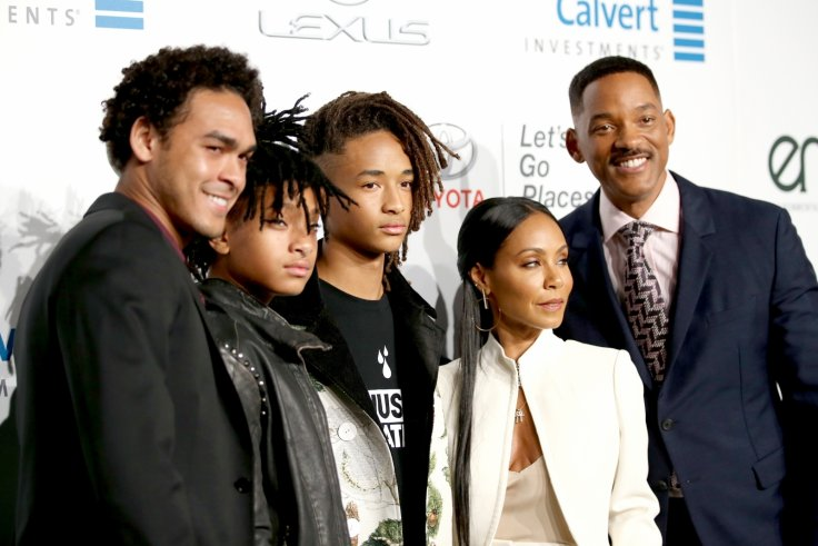 Will and Jada Pinkett Smith family