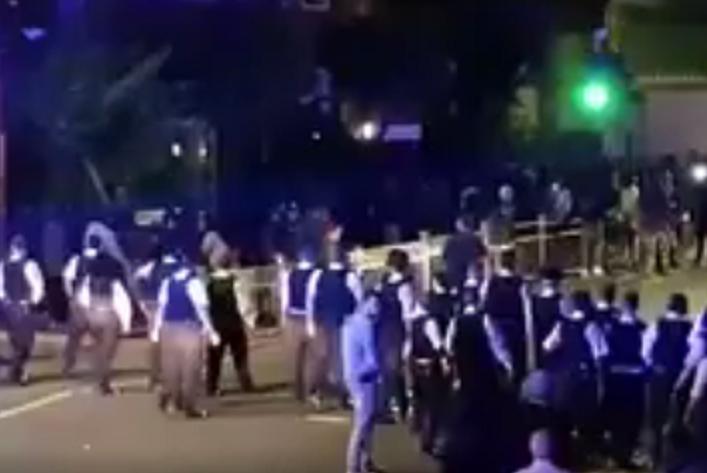 Church road riots Leyton London