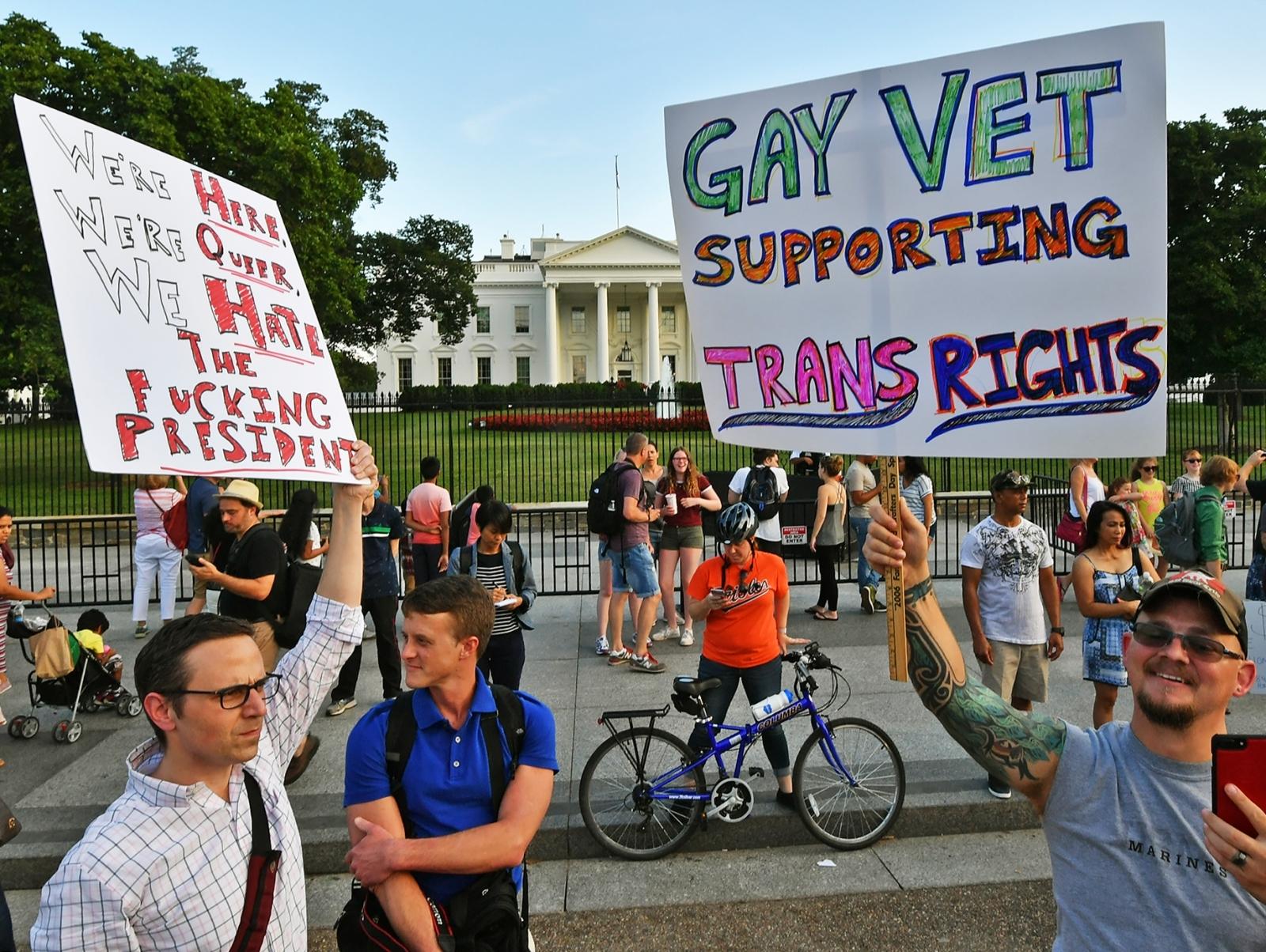 Transgender US military