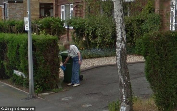Google Street View dead mother