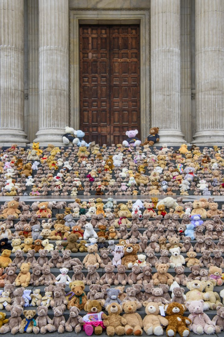 Teddy bears in St. Paul