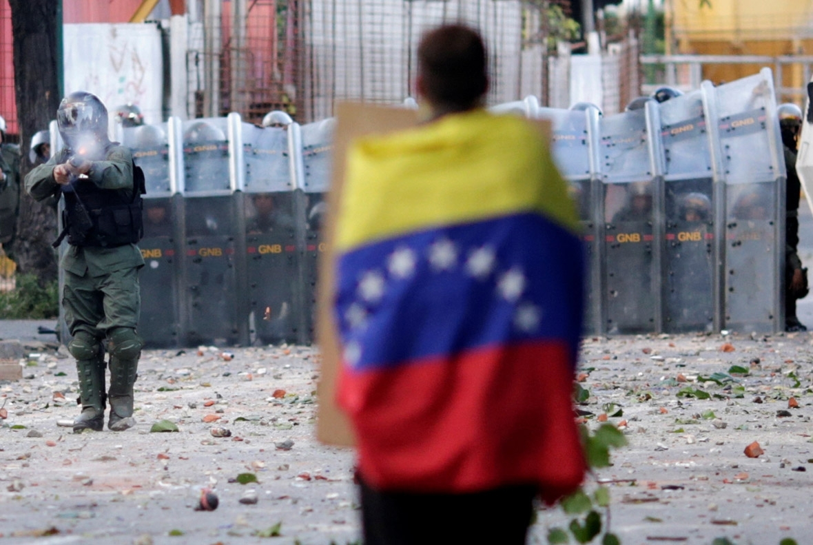Venezuela protests Caracas Maduro