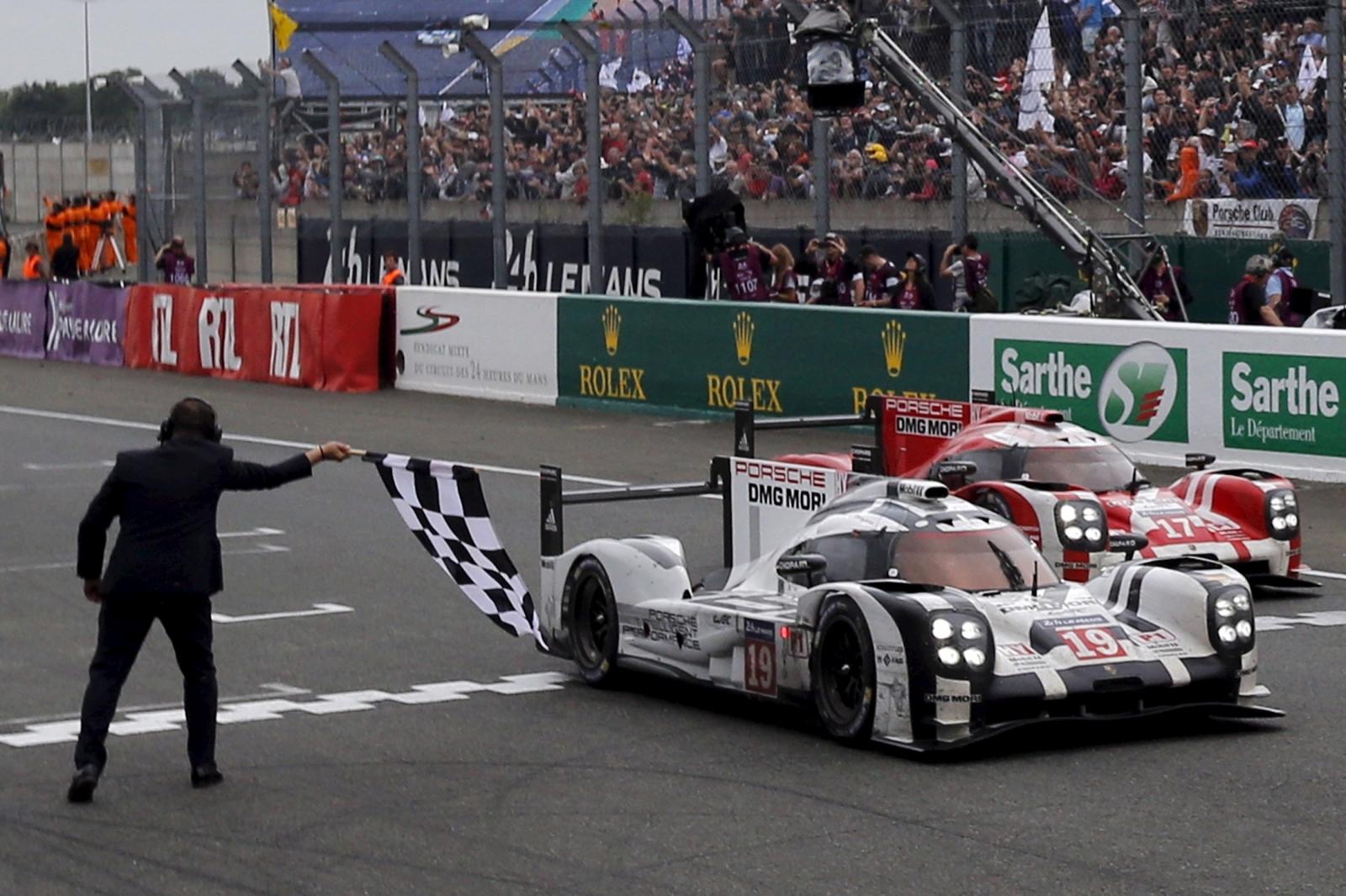 Porsche at Le Mans
