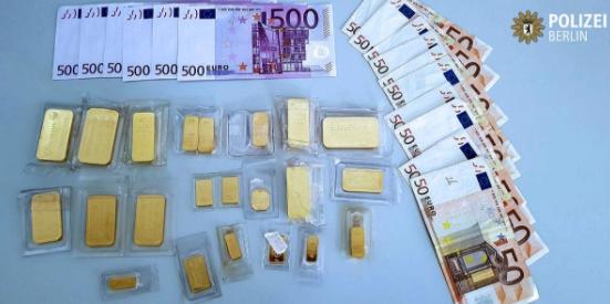 Berlin gold bars lost