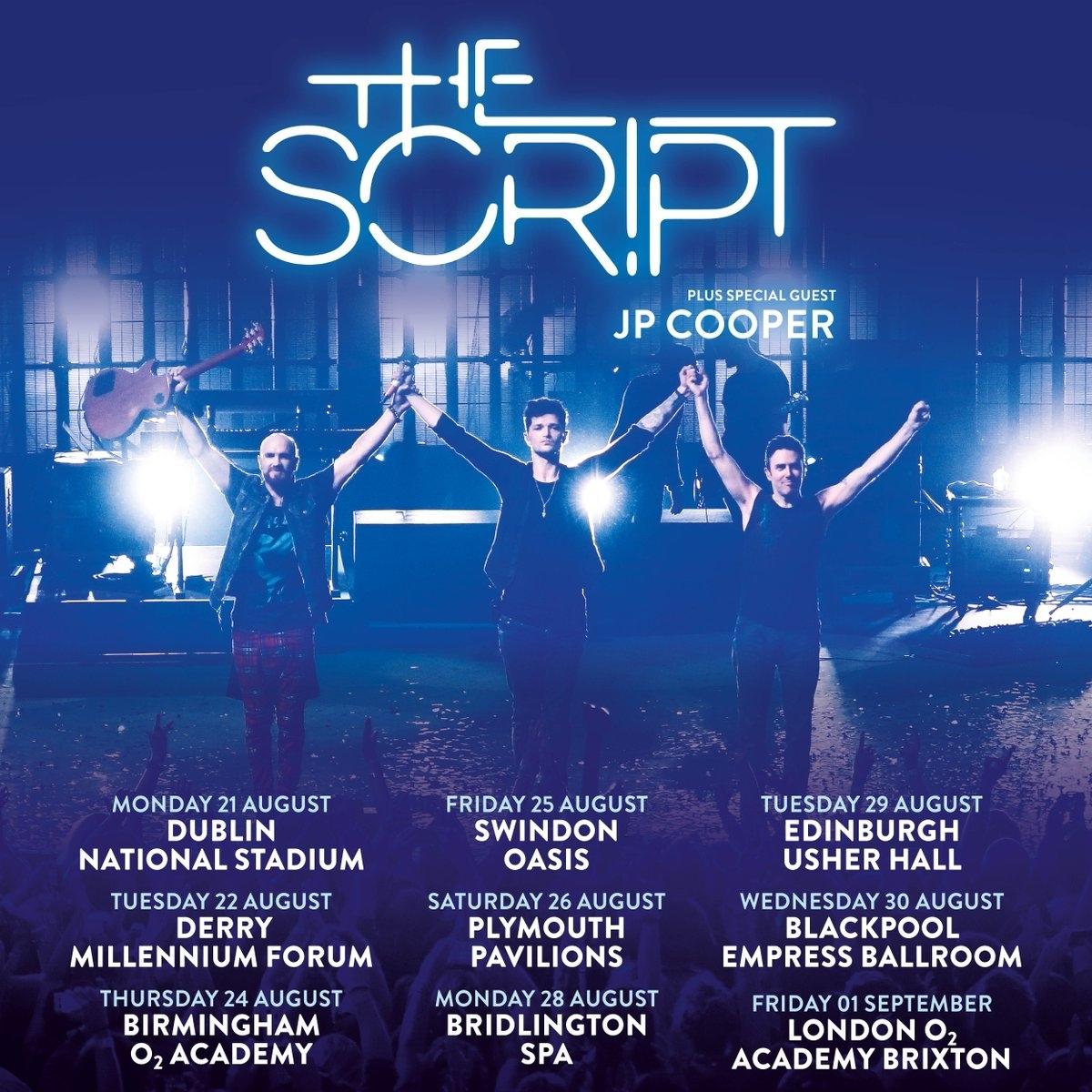 The Script tour