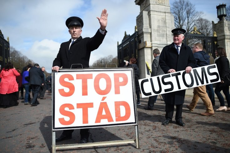 Protest in Northern Ireland