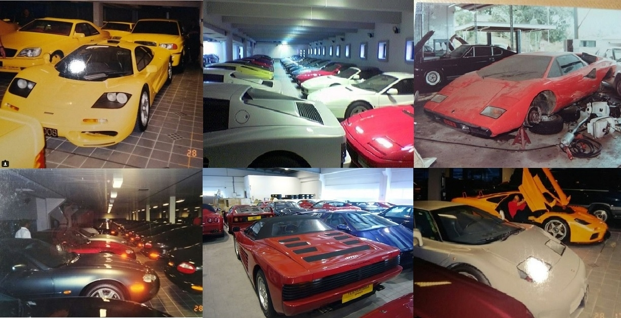 Sultan of Brunei's rotting car collection