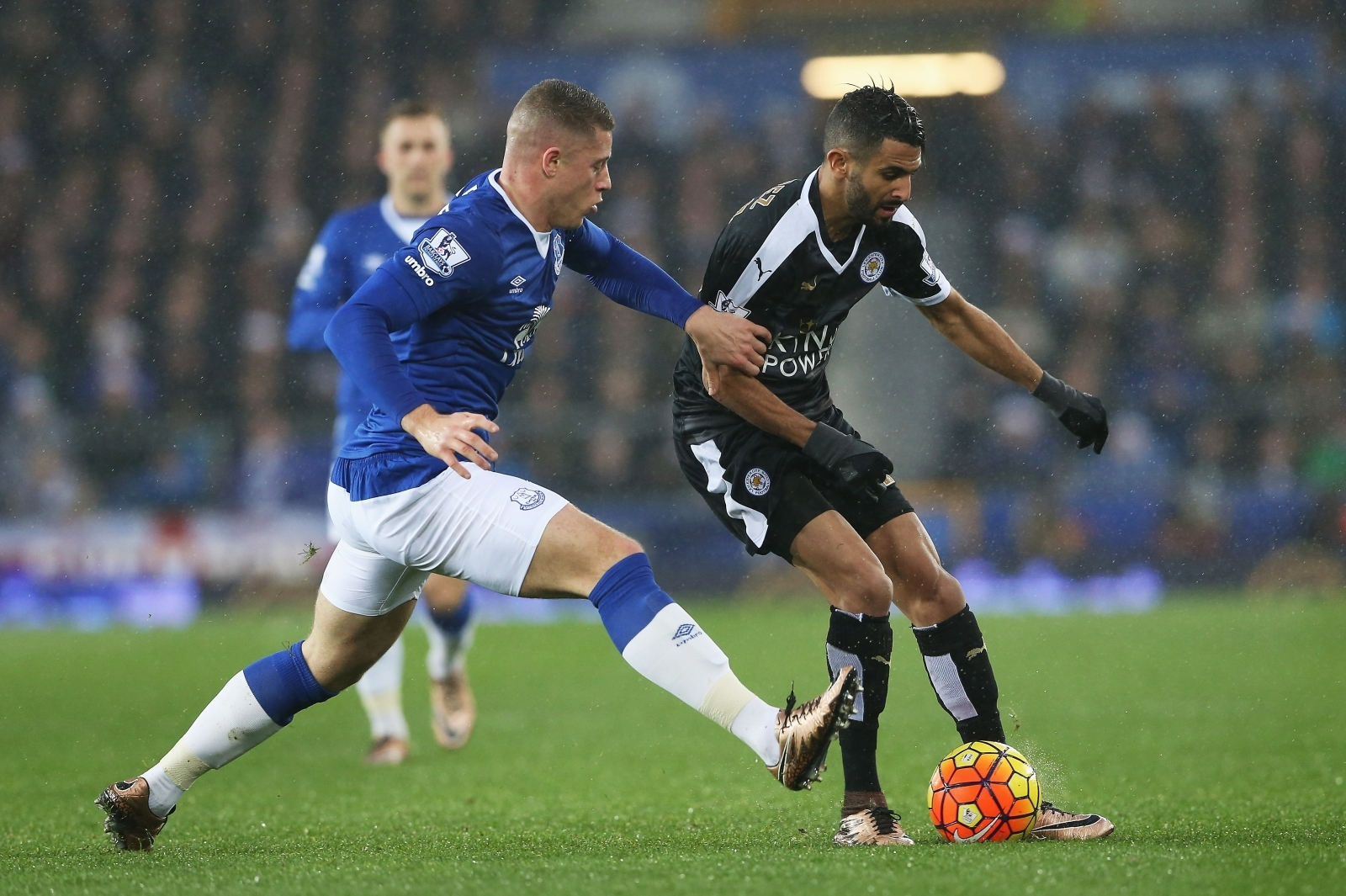 Ross Barkley and Riyad Mahrez