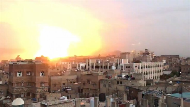Explosions Rock Yemen Day After Missile Shot Down Over Saudi Arabia