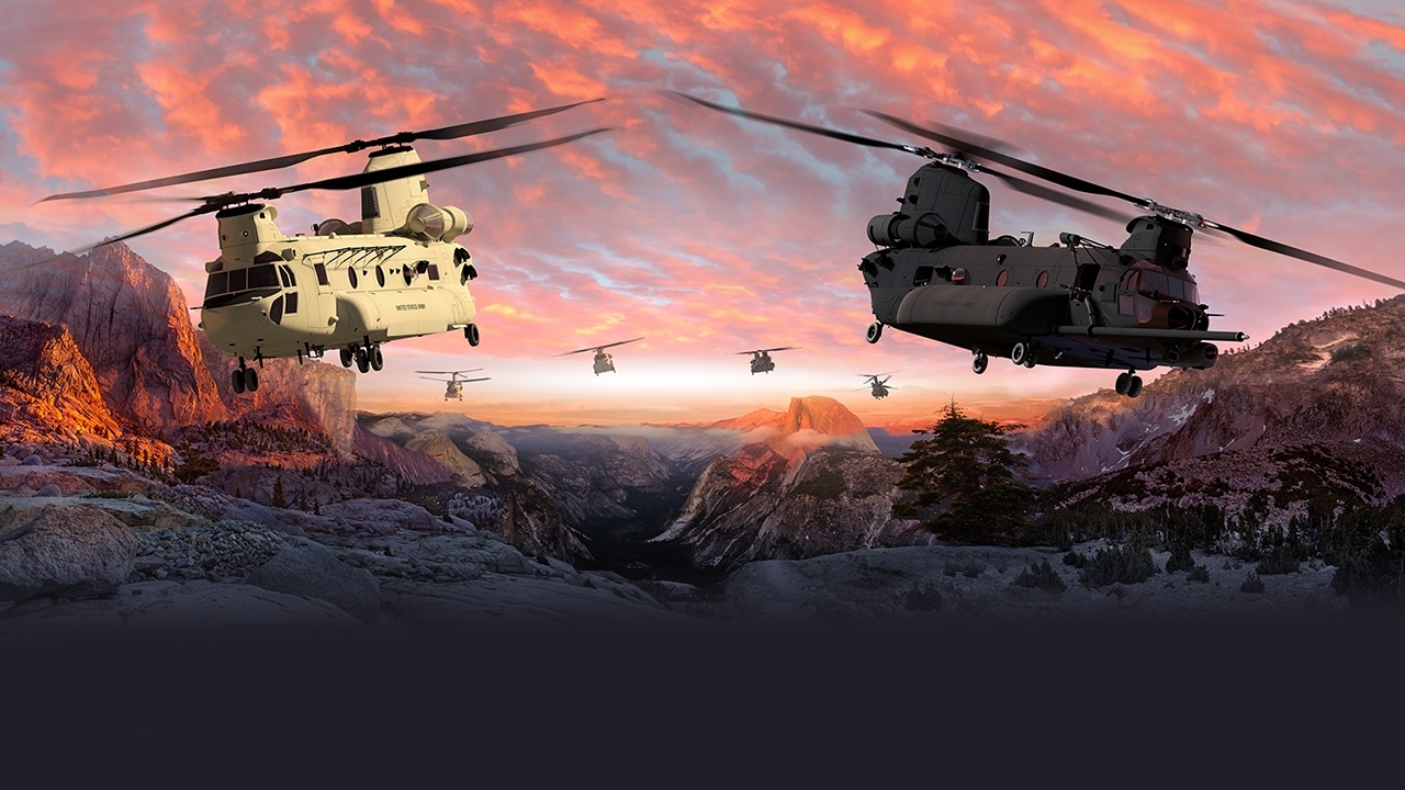 Boeing next-generation Chinook