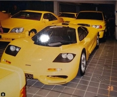 McLaren F1 in secret Brunei car collection