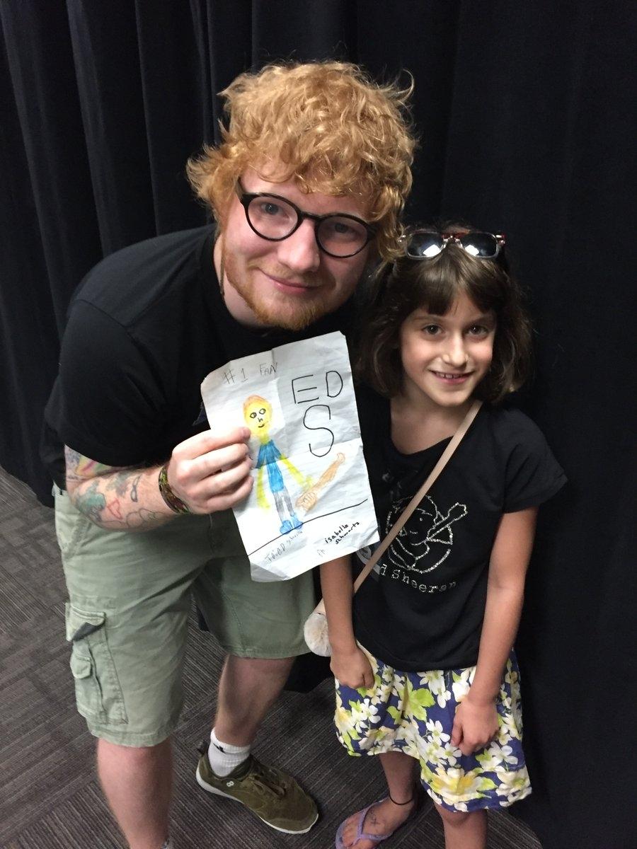 Ed Sheeran fan