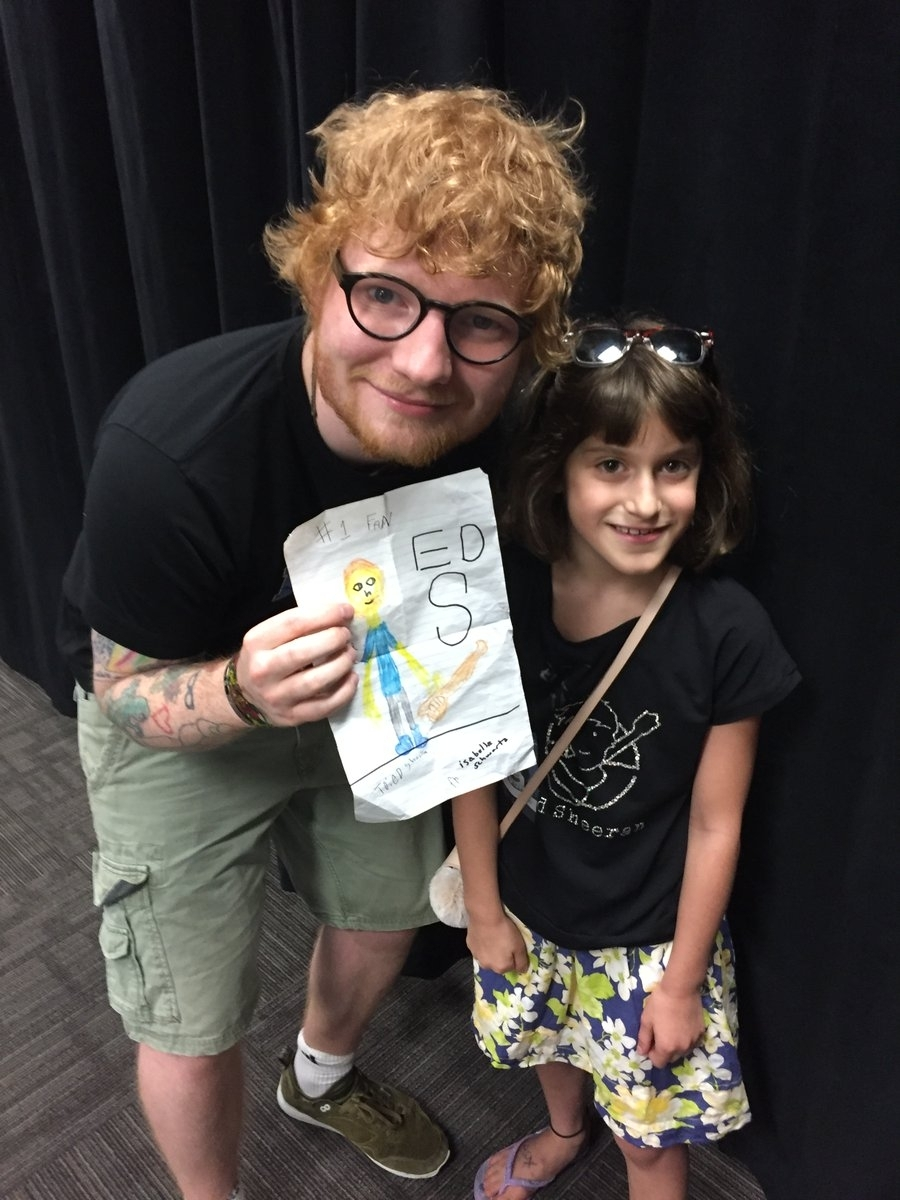 Ed Sheeran fan