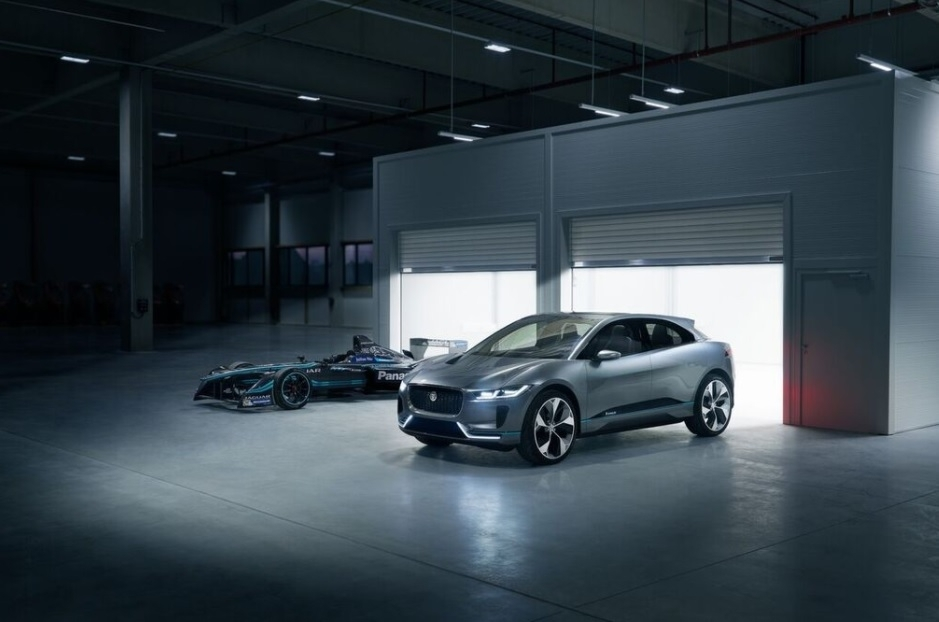 Jaguar I-Pace and I-Type