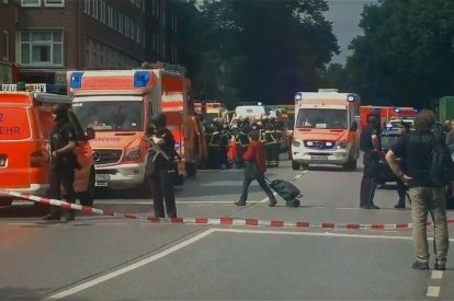 One Killed And Several Injured Following Mass Stabbing At Supermarket In Hamburg