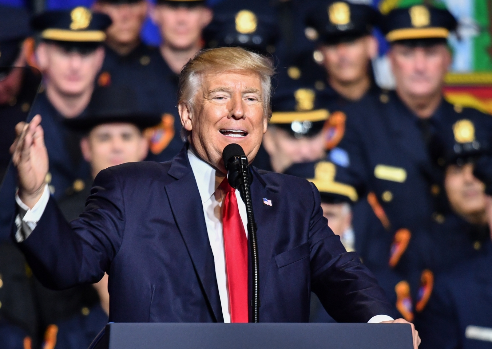Donald Trump police