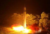 North Korea ICBM launch