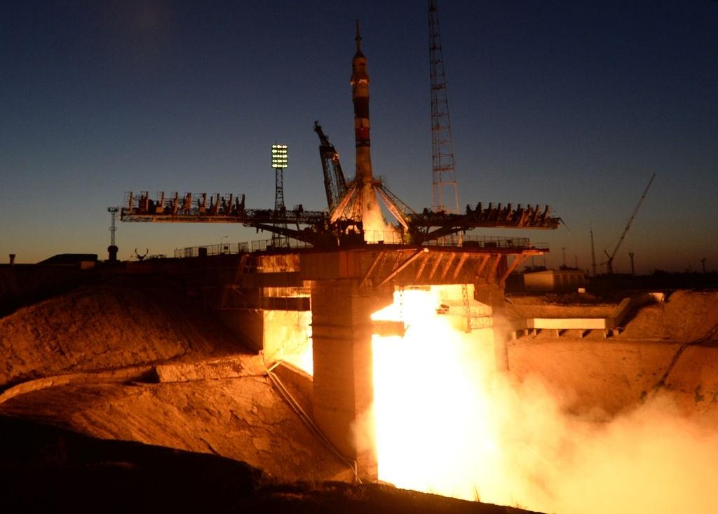 Russian rocket Soyuz MS-05 docks at ISS