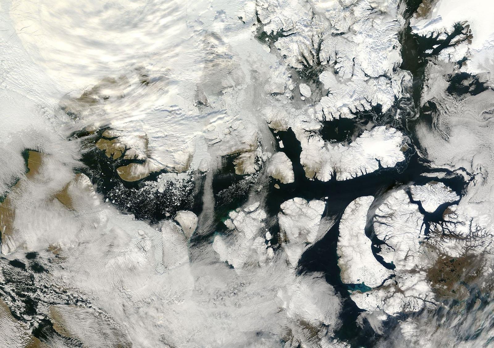 Northwest Passage Artic Climate change