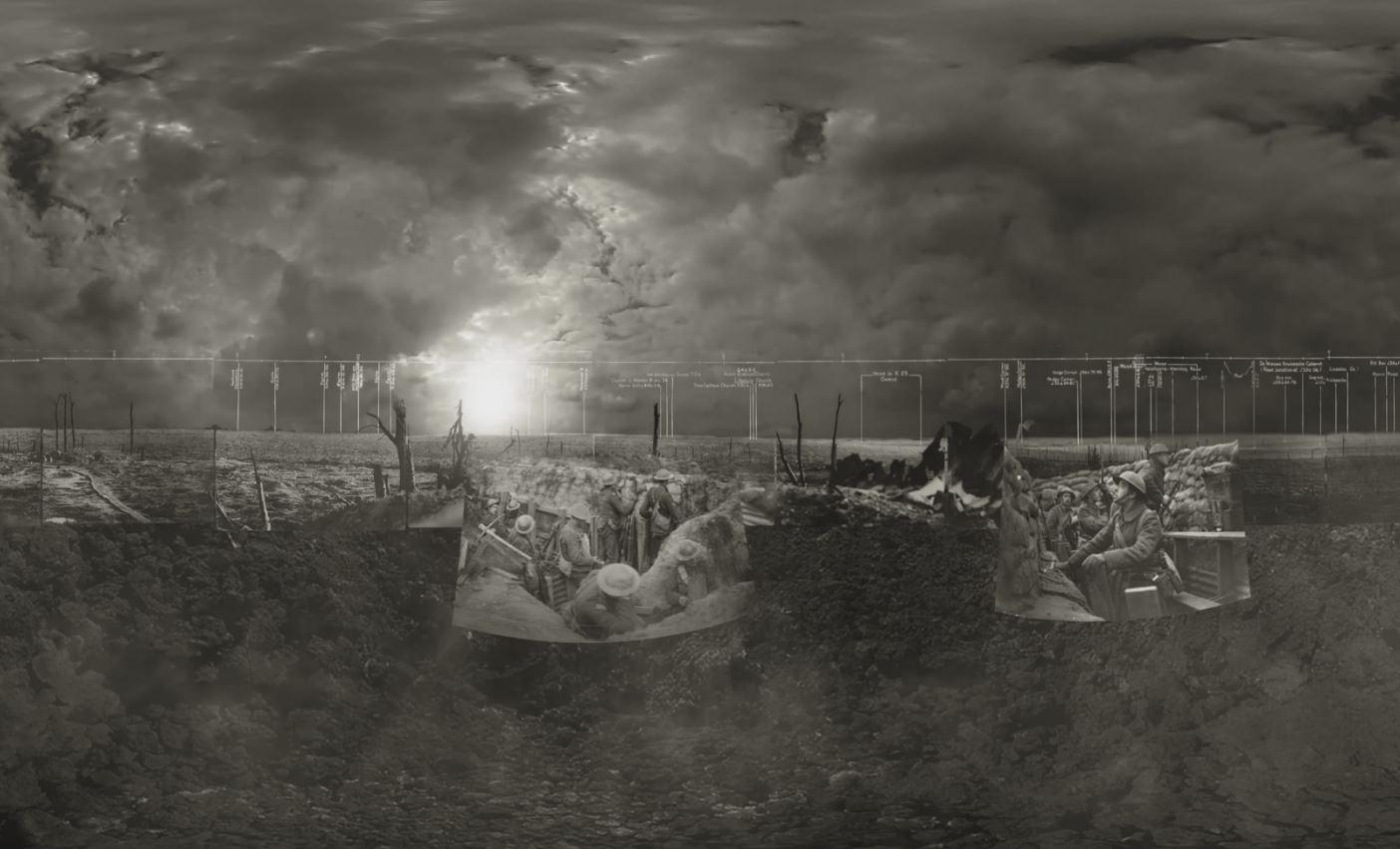 360-degree video recreates the Battle of Passchendaele