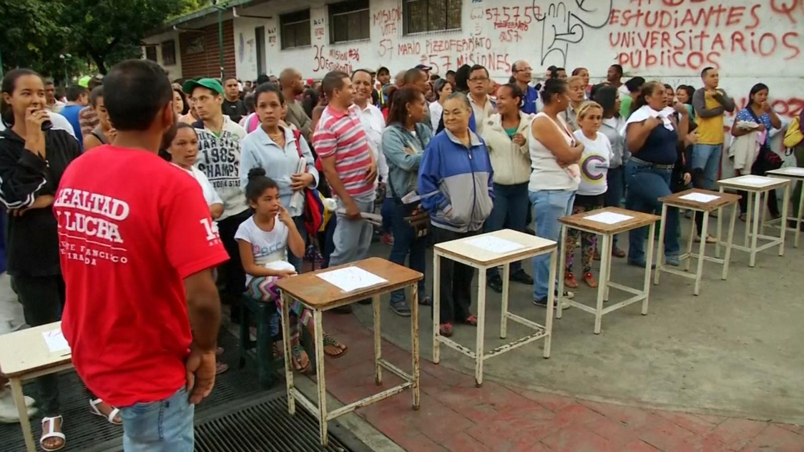 Venezuela Goes To Polls As Opposition Boycotts Nicolas Maduro's Socialist Power-Grab