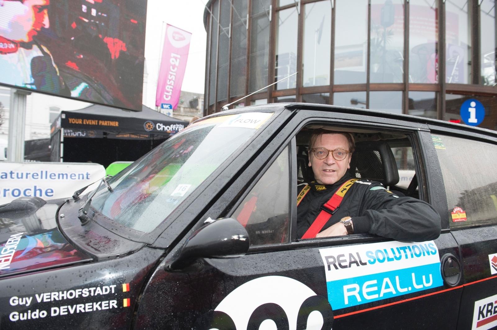 Guy Verhofstadt car