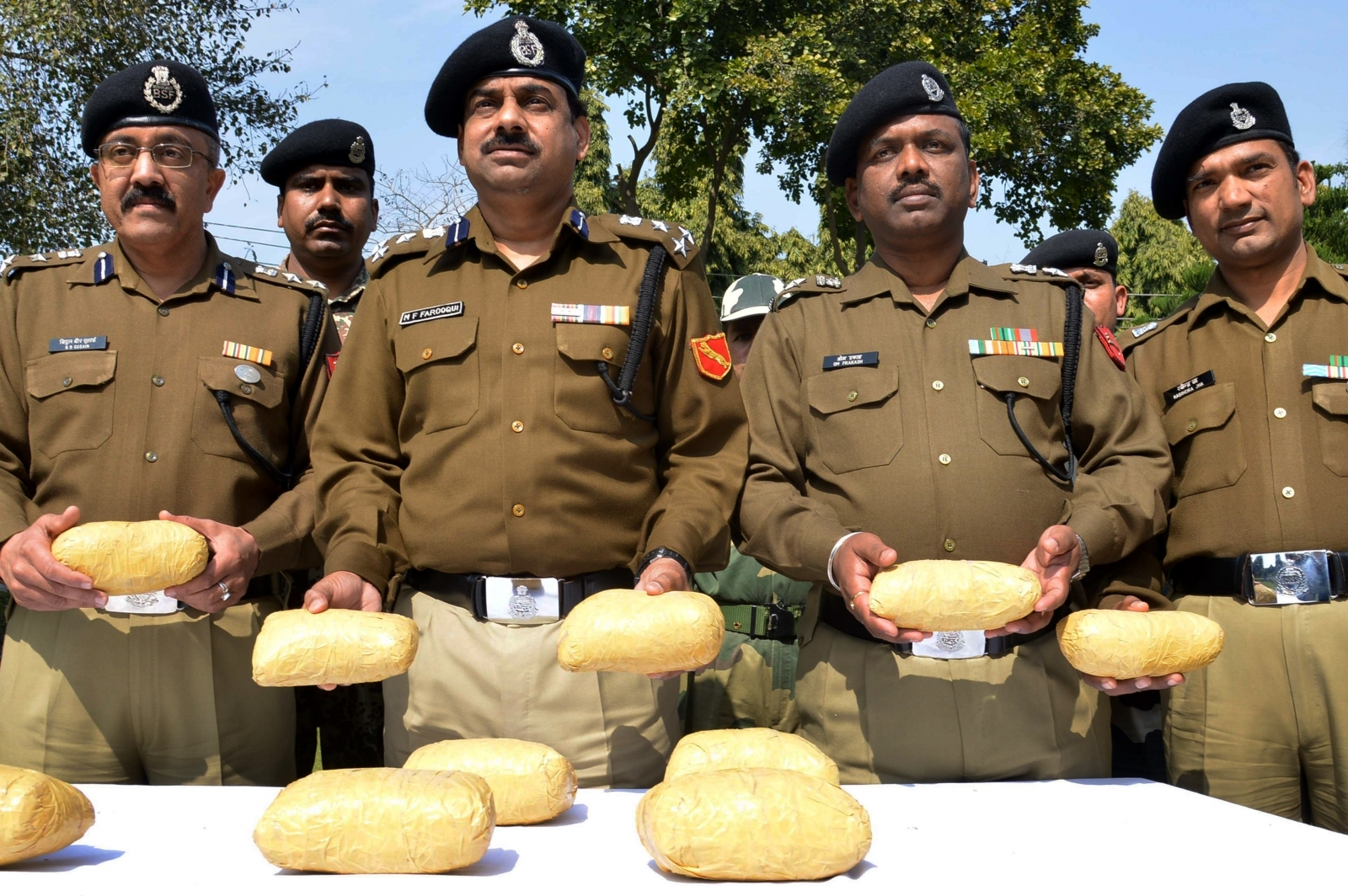 India heroin bust