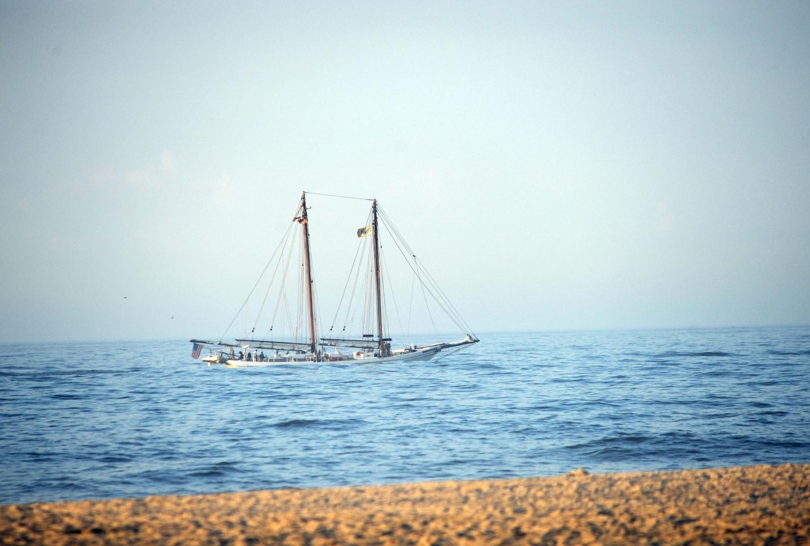 Atlantic sailing boat