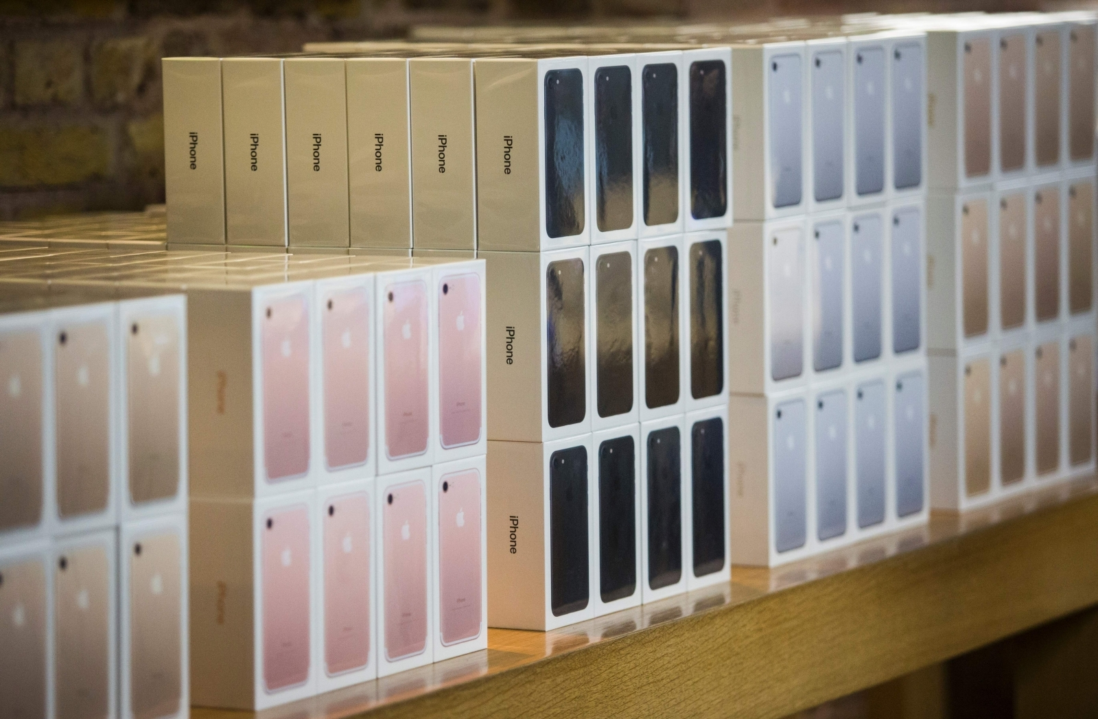 iPhone boxes