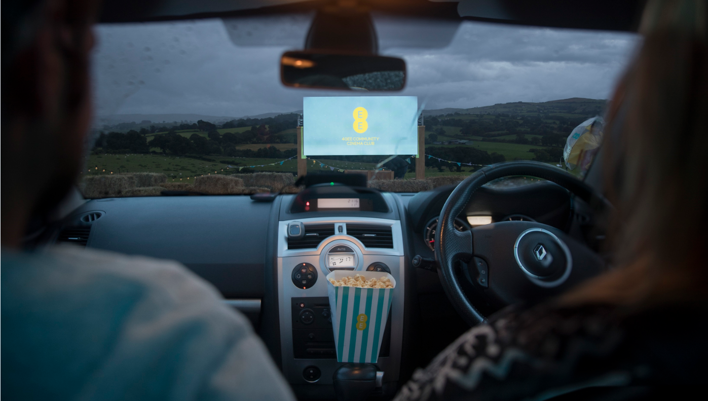 EE drive-in cinema
