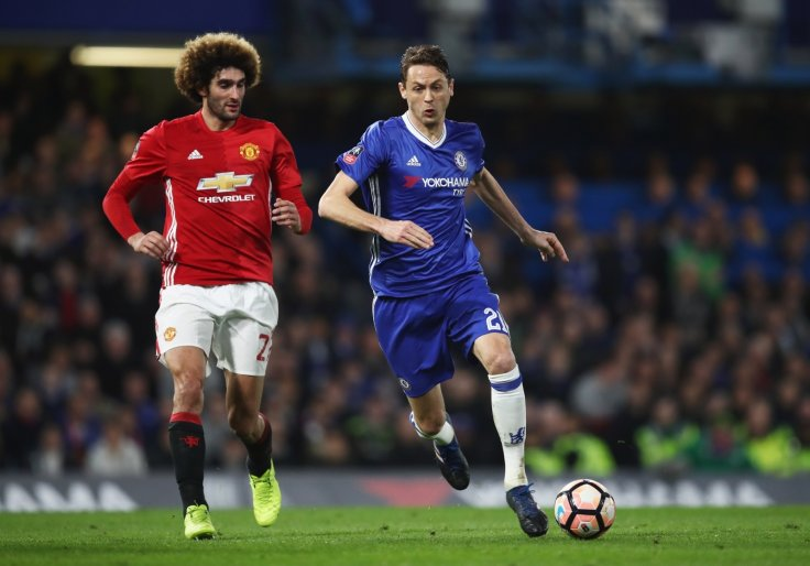 Marouane Fellaini and Nemanja Matic