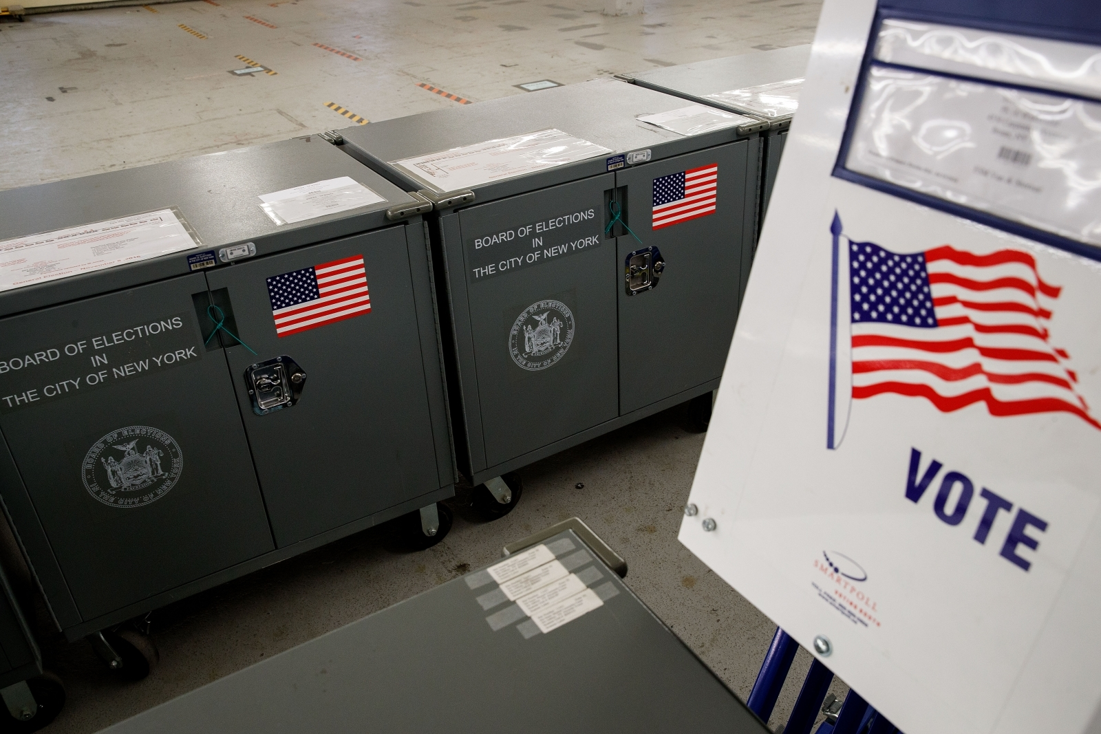Hackers break into voting machines in minutes