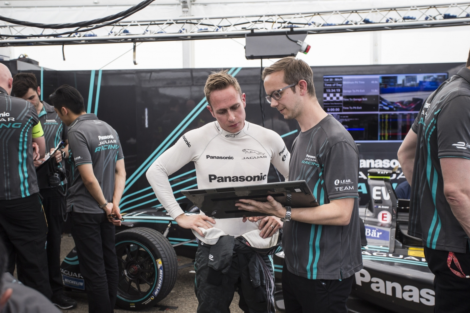 Jaguar Racing Formula E team