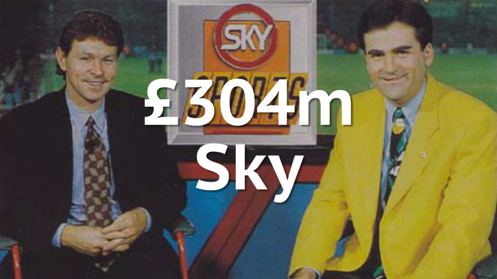 Cost of Premier league TV rights 1992
